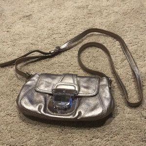 Bronze Michael Kors crossbody bag